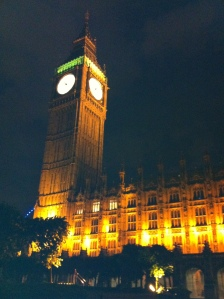 Houses of Parliament by night