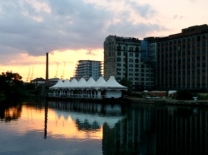 London, Pontoon Dock, summer 2012