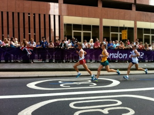 London Olympic marathon