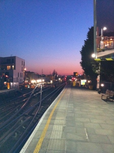 Parsons Green tube station, February 2013