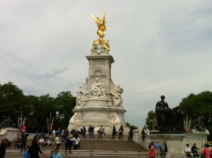 Victoria memorial, outside Buckingham Palace