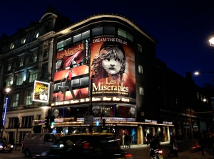 Les Mis, London