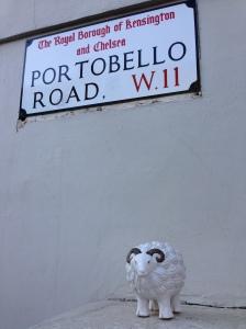Mabel at Portobello Road
