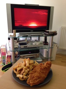Fish and chips and The Lion King