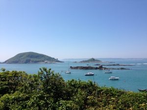 View from Herm