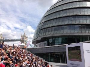 Wimbledon men's final in London