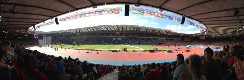 Commonwealth Games at Hampden Park