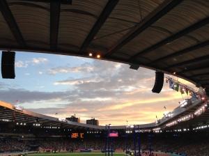 Hampden sunset