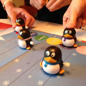Penguin racing