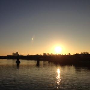 Sunrise, Putney Bridge, 2014