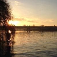 Sunrise over Putney Bridge
