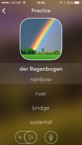 der Regenbogen - rainbow in German