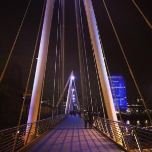 Golden Jubilee Bridge, London