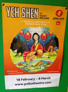 Yeh Shen, by Yellow Earth at the Polka Theatre, Wimbledon