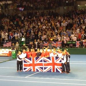 Team GB win at Davis Cup, Glasgow