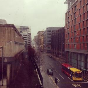 Grey day in Glasgow
