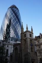 The Gherkin, 30 St Mary Axe, City of London