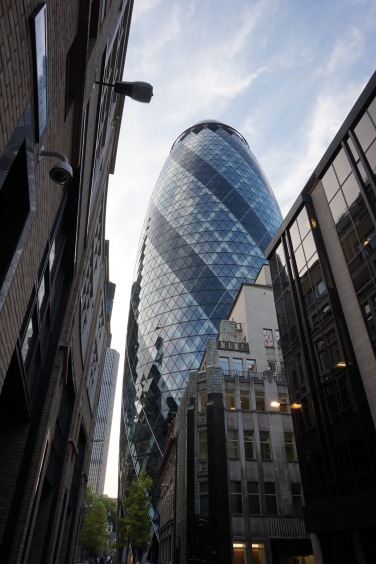 The Gherkin, 30 St Mary Axe, City of London