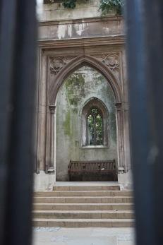 St Dunstan in the East Church, London