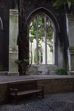 St Dunstan in the East Church, London