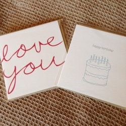Greeting cards from the Happy Paper Club