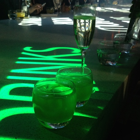 drinks at The Circus