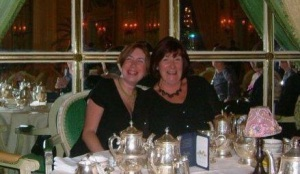 Mum & I celebrating her 60th birthday, before her stroke.
