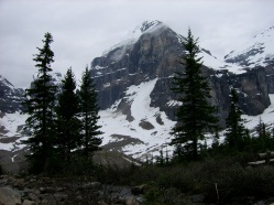 Lake Louise - from the top of the trail of the six glaciers