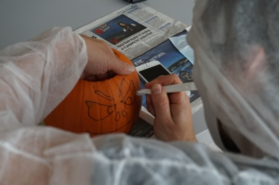 Pumpkin carving competition