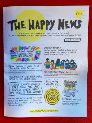 Happy Newspaper
