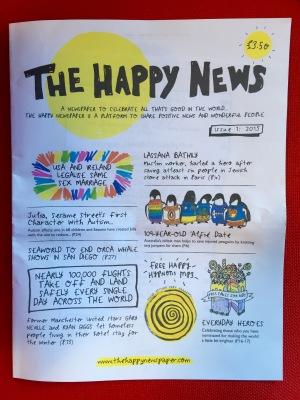 Happy Newspaper